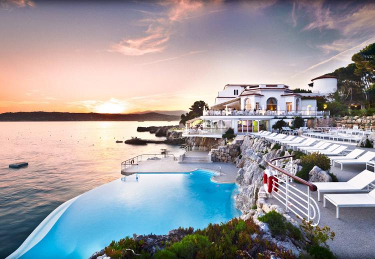 Hôtel Cap-Eden-Roc, Cap d'Antibes (France)