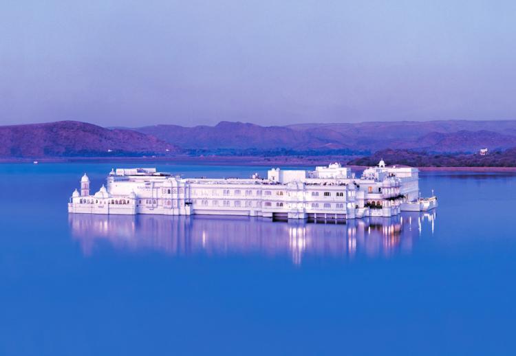 Taj Lake Palace, Udaipur, Rajasthan (Inde)