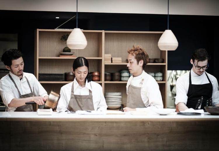 6. Restaurant ERH (Paris 2ème) : élégance franco-japonaise
