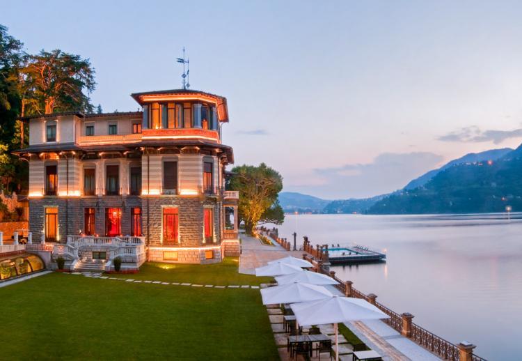 05. CastaDiva Resort & SPA, Blevio (Lac de Côme, Italie)