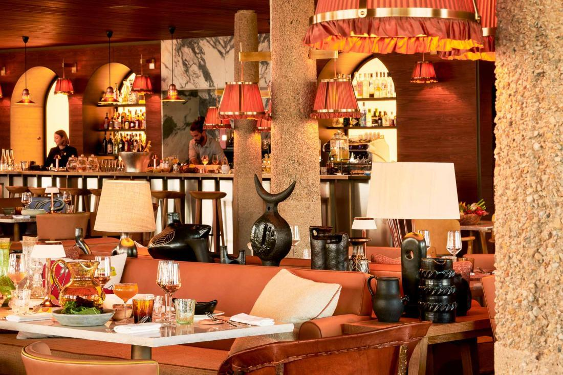 Le restaurant de Lily of the Valley © DR