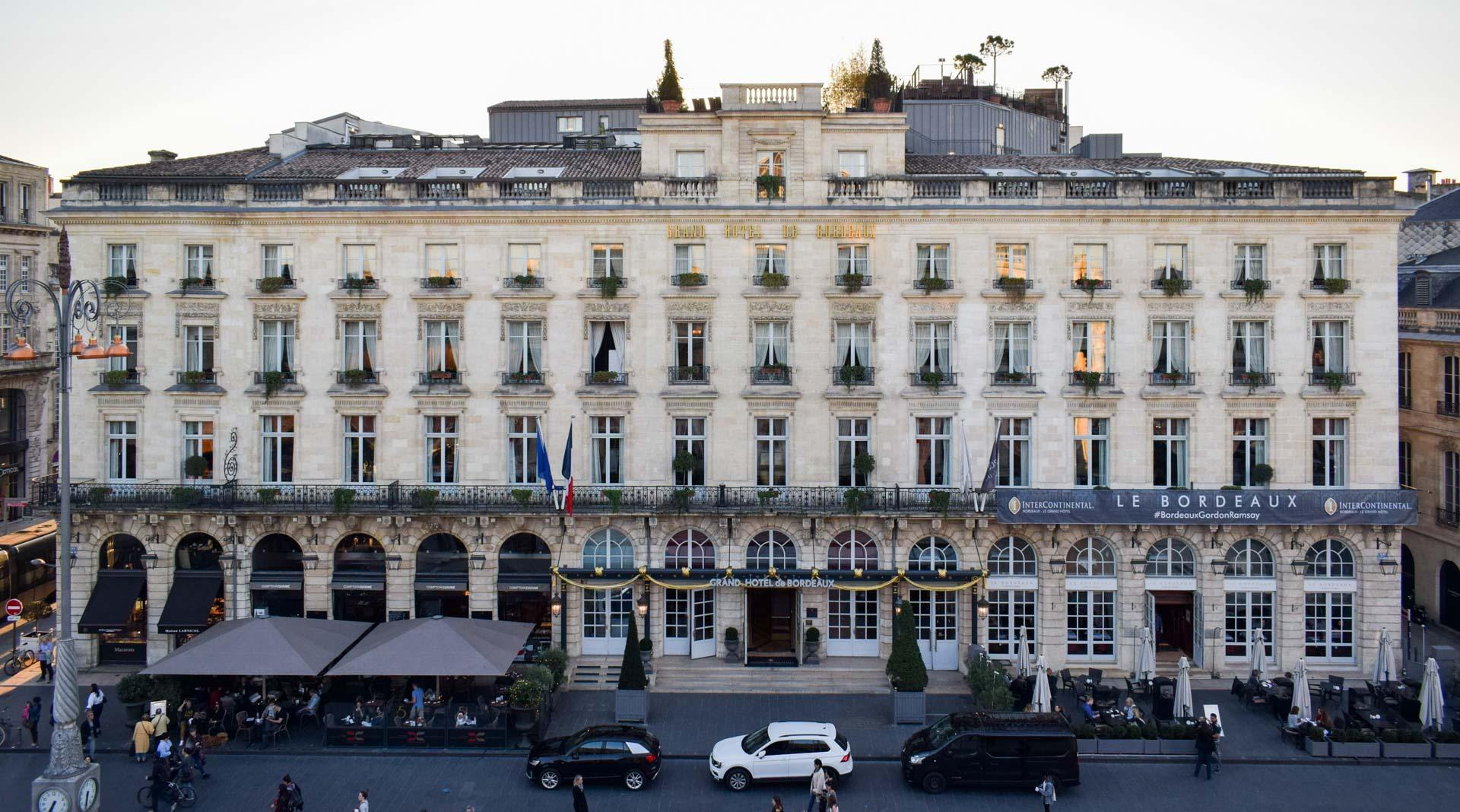 Intercontinental bordeaux le grand h tel la r f rence for Hotels bordeaux