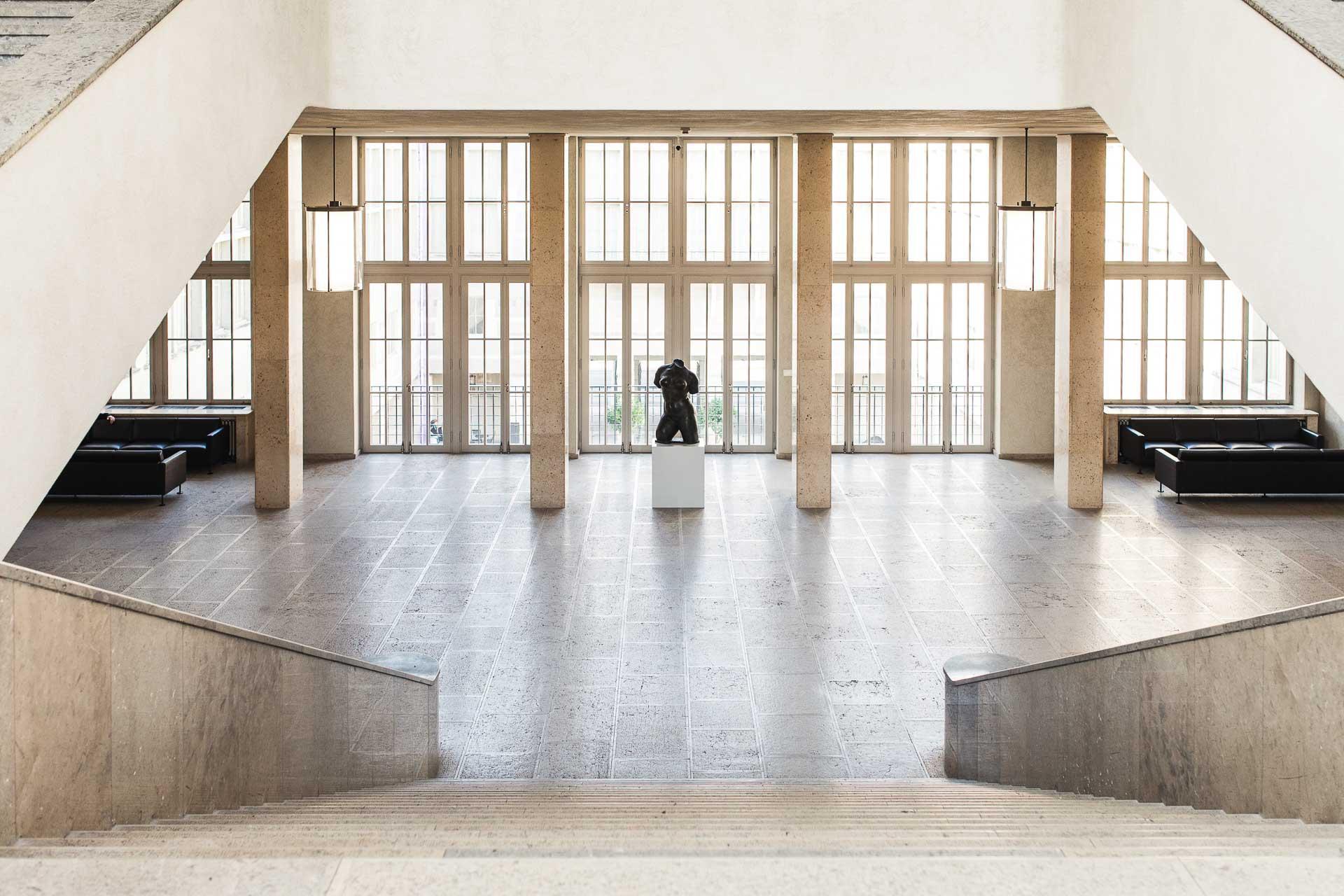 Le Kunstmuseum Basel. © Kunstmuseum Basel.