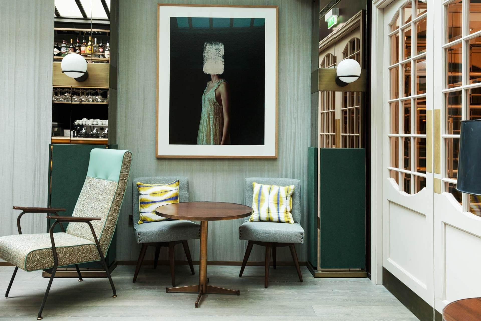 Le restaurant de la Maison Breguet © The Socialite Family
