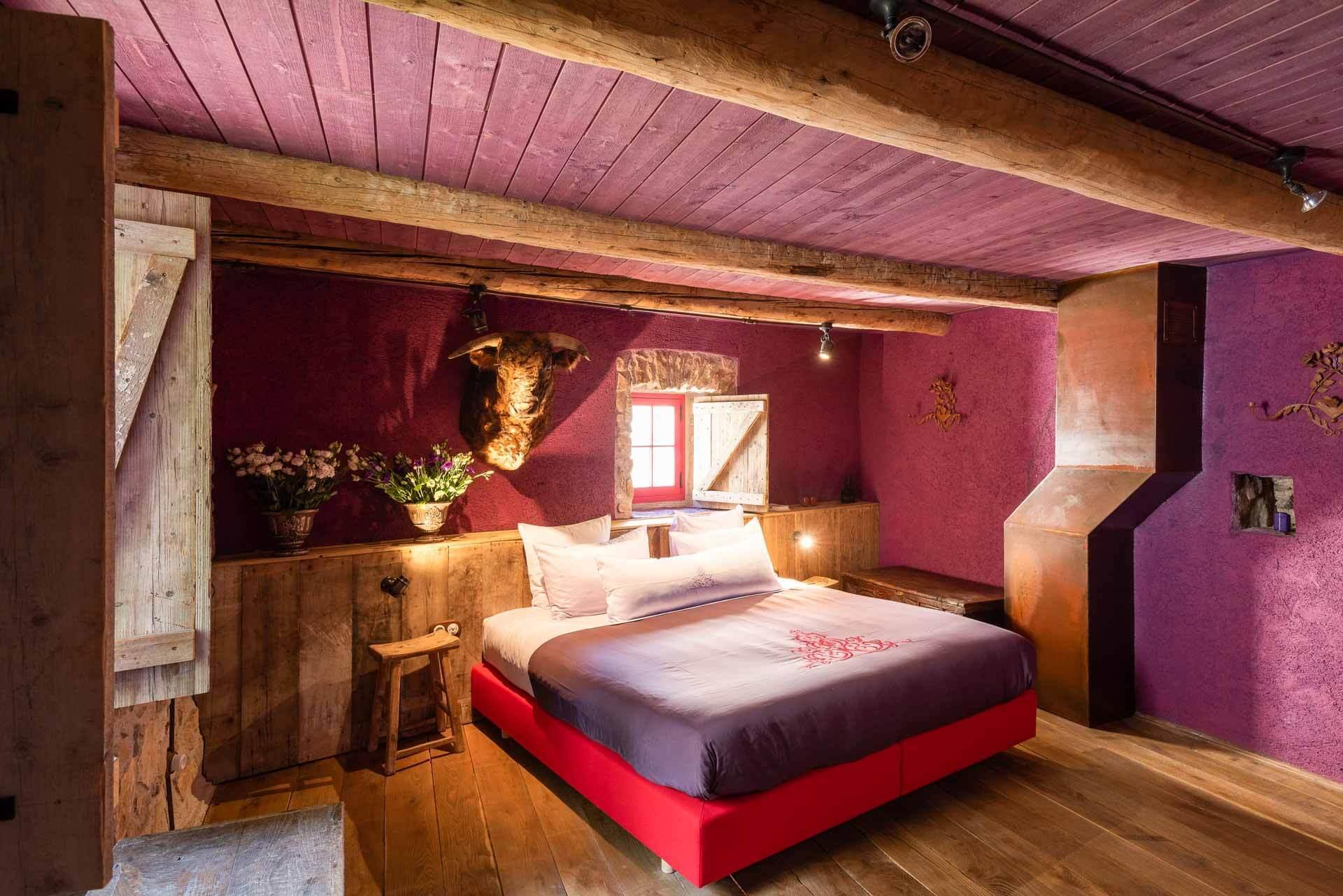 Des anciennes maisons de village ont été réhabilitées en chambres entre 50 et 90 mètres carrés © DR
