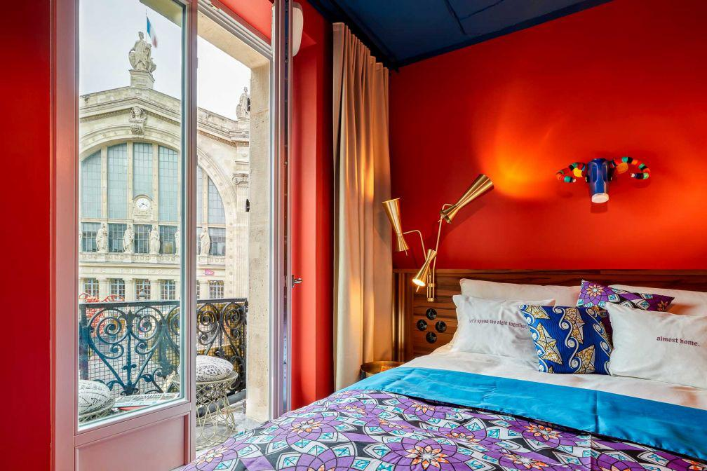 25hours Hotel Paris Terminus Nord - Chambre © Steve Herud