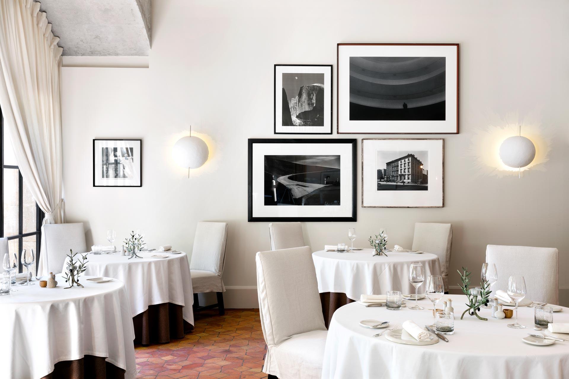 La salle de l'Oustau de Baumanière © G. Voinot