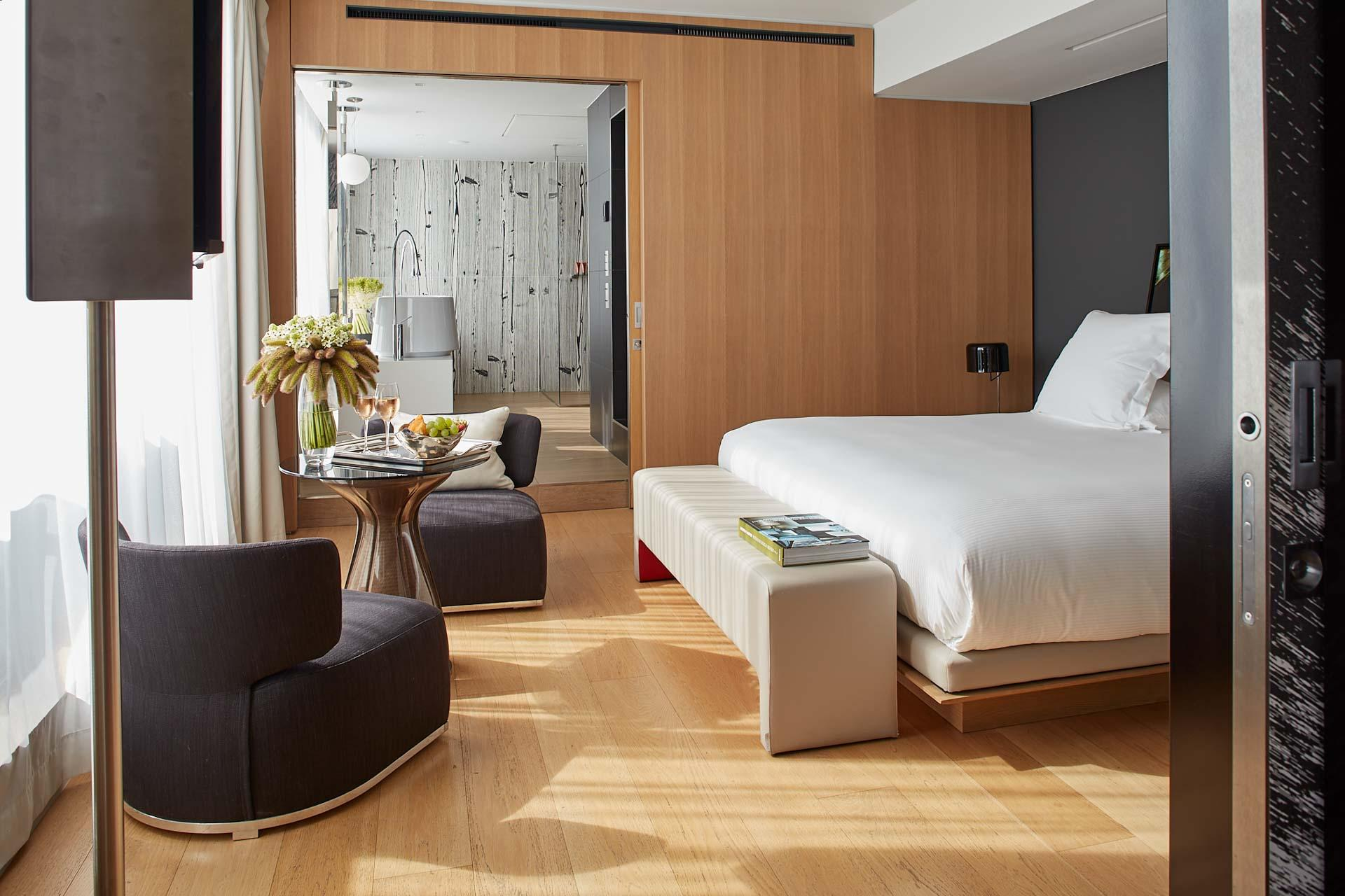 Hôtel Cinq Codet |Chambre © Antoine Schramm