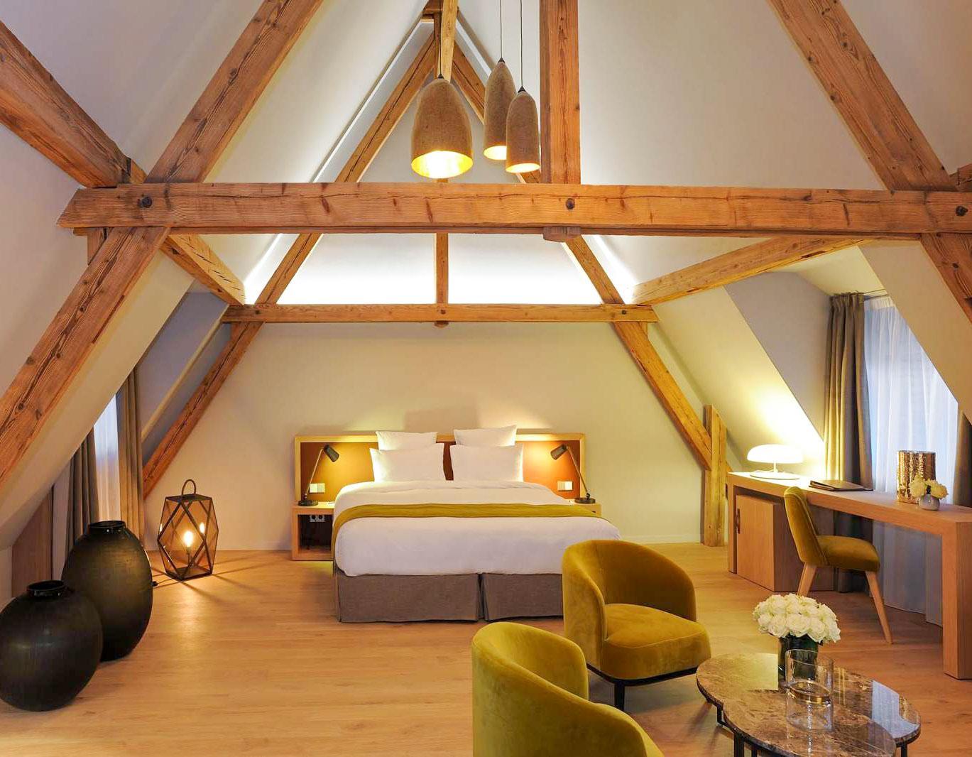 Chambre mansardée au 5 Terres Hôtel & Spa – MGallery © DR
