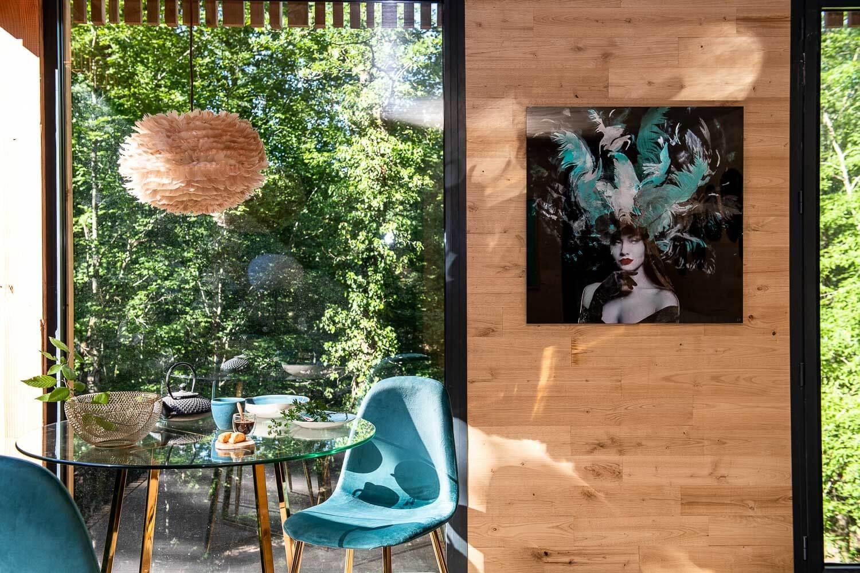 Salon d'un lodge au Loire Valley Lodge © Anne Emmanuelle Thion