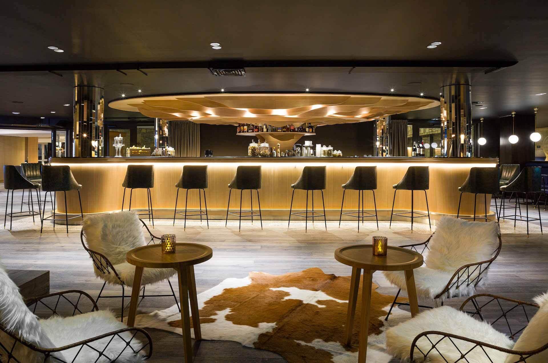 Bar de l'hôtel Araucaria © DR