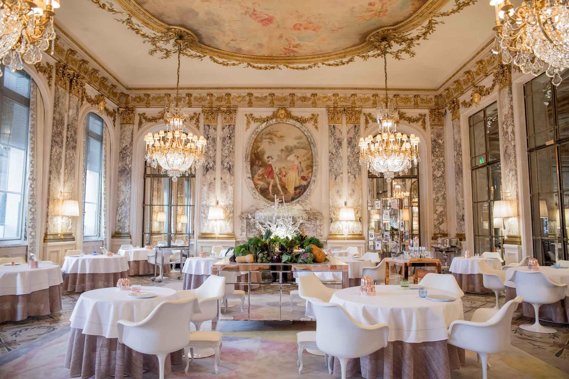 Restaurant le Meurice Alain Ducasse © Dorchester Collection