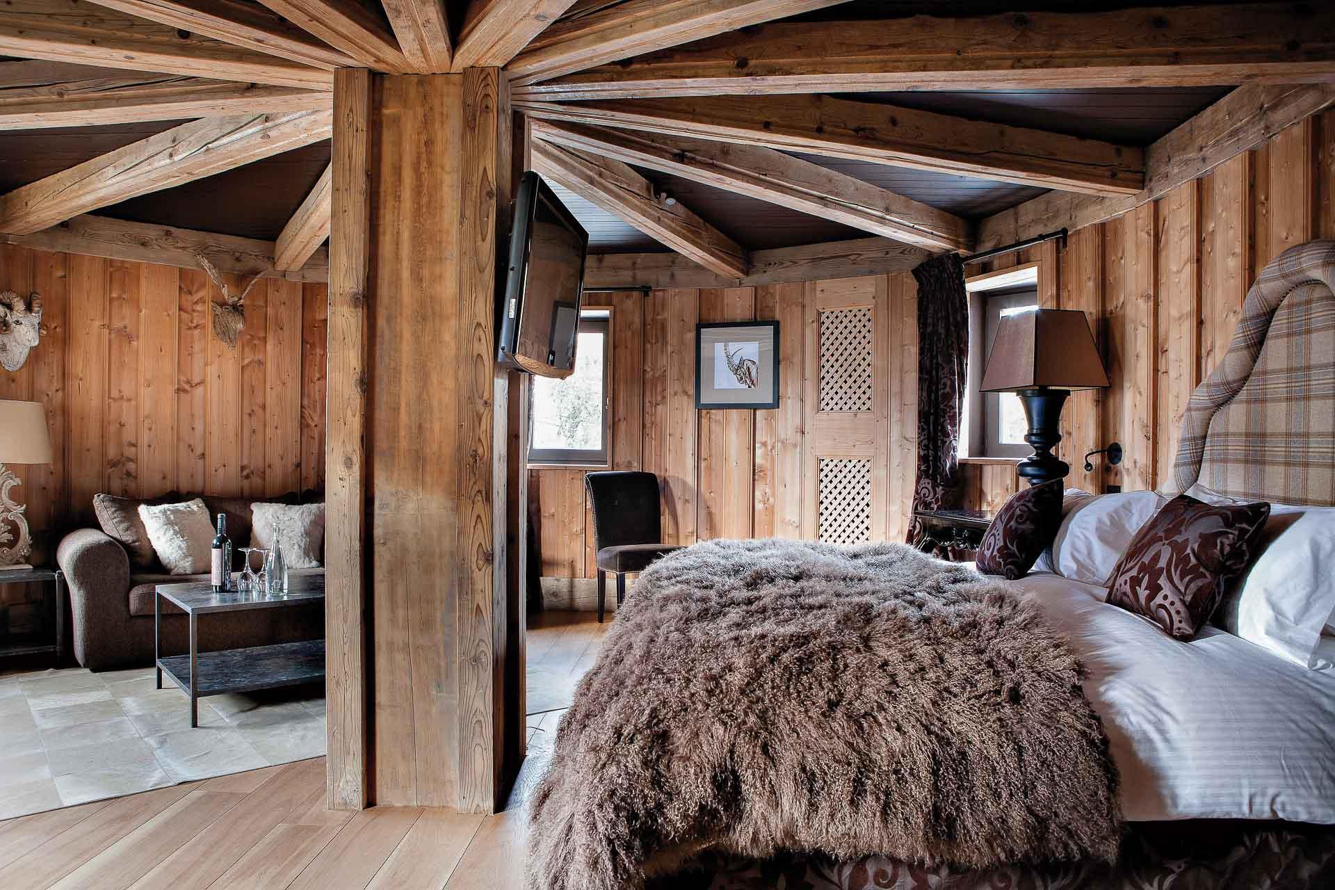 La suite Rochebrune. © Les Fermes de Marie - L. Di Orio, MPM, T. Shu et DR