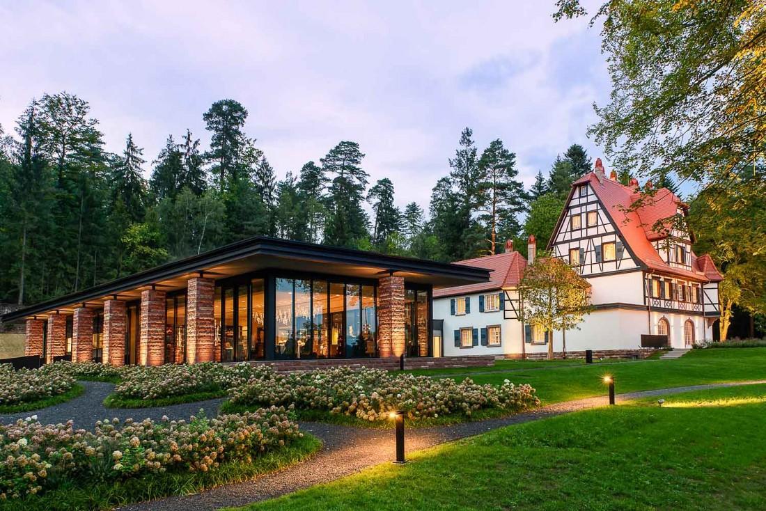 La Villa René Lalique et l'extension du restaurant étoilé © Reto Guntli