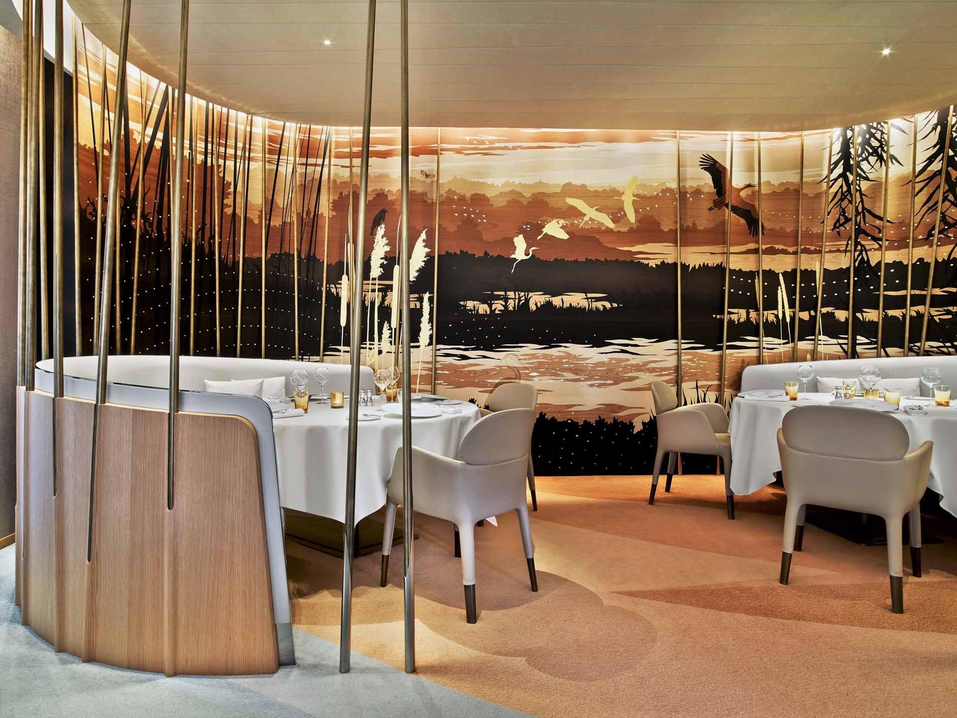 Le restaurant gastronomique de l'Hôtel des Berges de la famille Haeberlin © DR