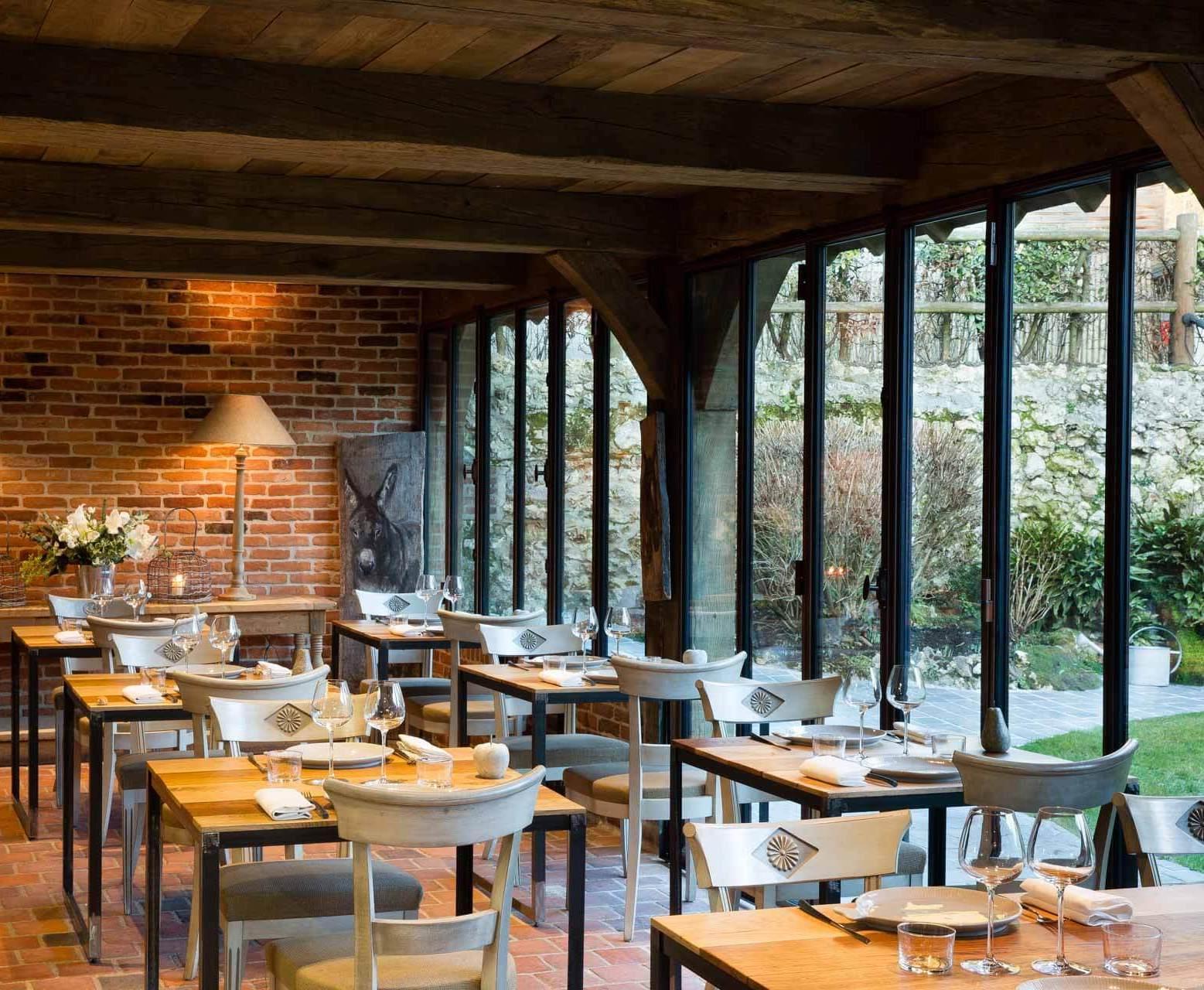 Le restaurant de l'Auberge de la Source © Christophe Bielsa