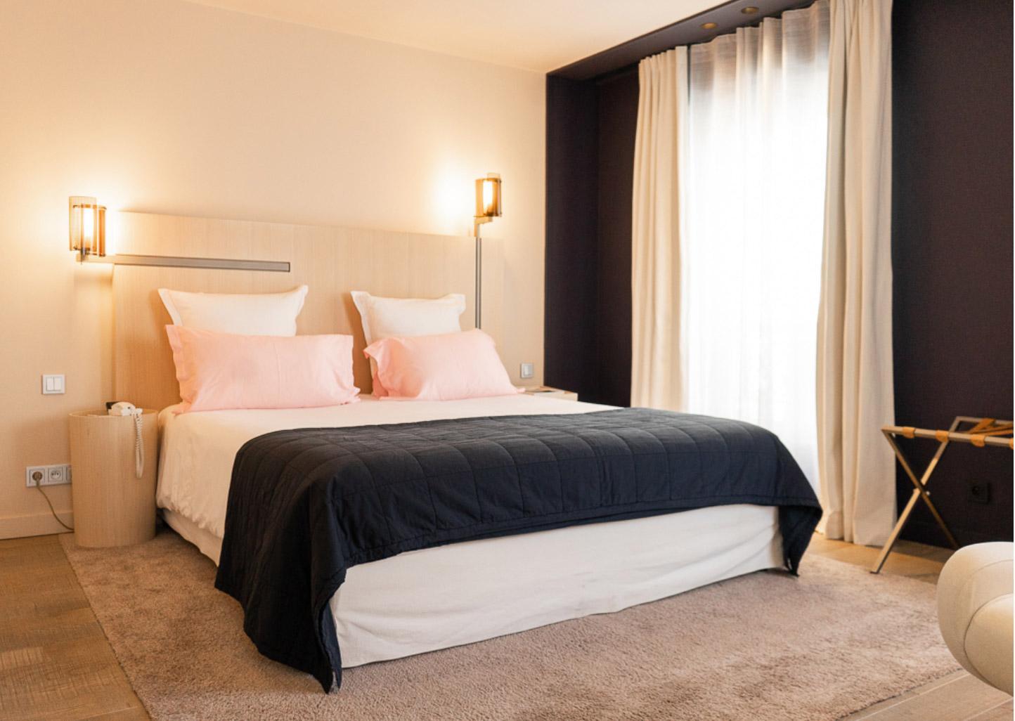 Chambre hôtel du Nell ©Pierre Leong