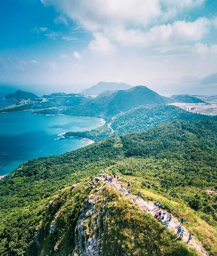 Randonnée sur les sentiers de Sai Kung, parmi les plus beaux de Hong Kong © Gorma Kurma – stock.adobe.com