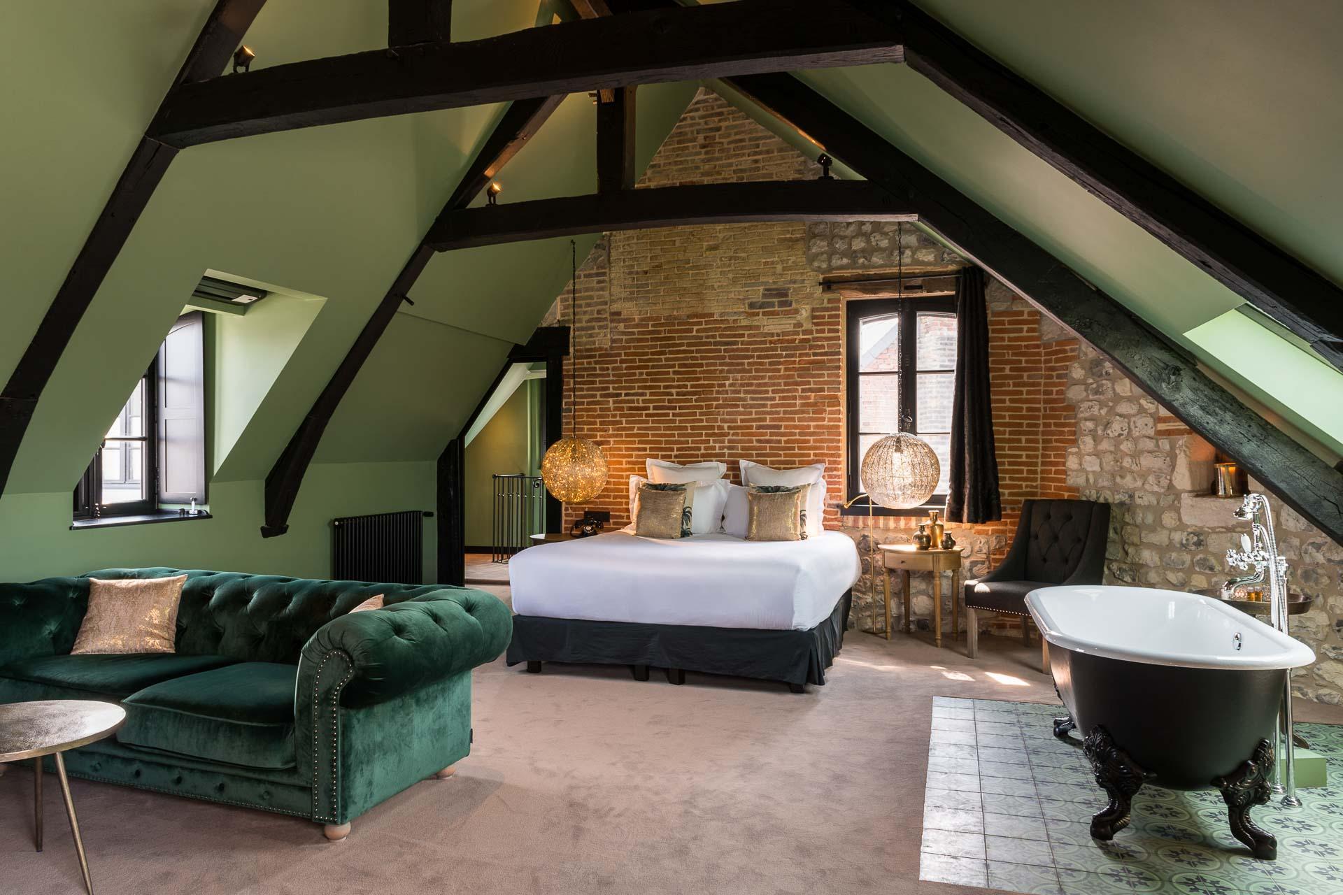 Les Maisons de Léa - Suite Grand Luxe © David Emmanuel Cohen