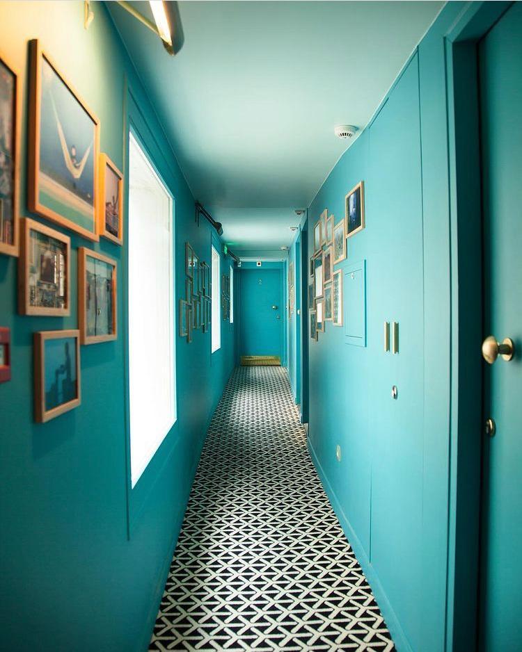 Couloir acidulé de l'hôtel Edgar ©Thomas Millet