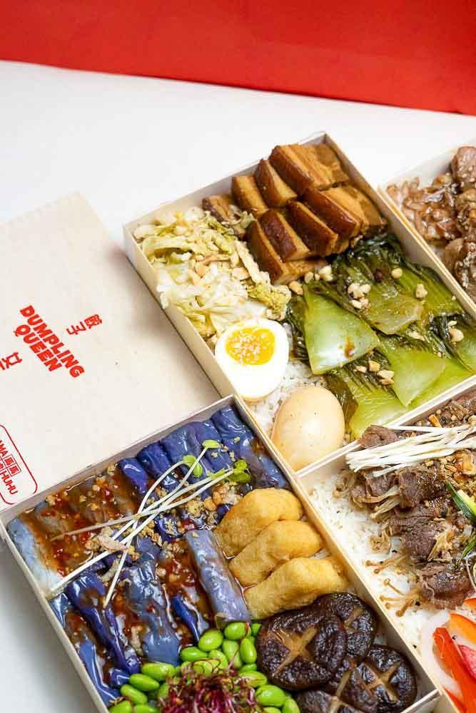 Dumpling Queen - Rice boxes taïwanaises © Quentin Tourbez