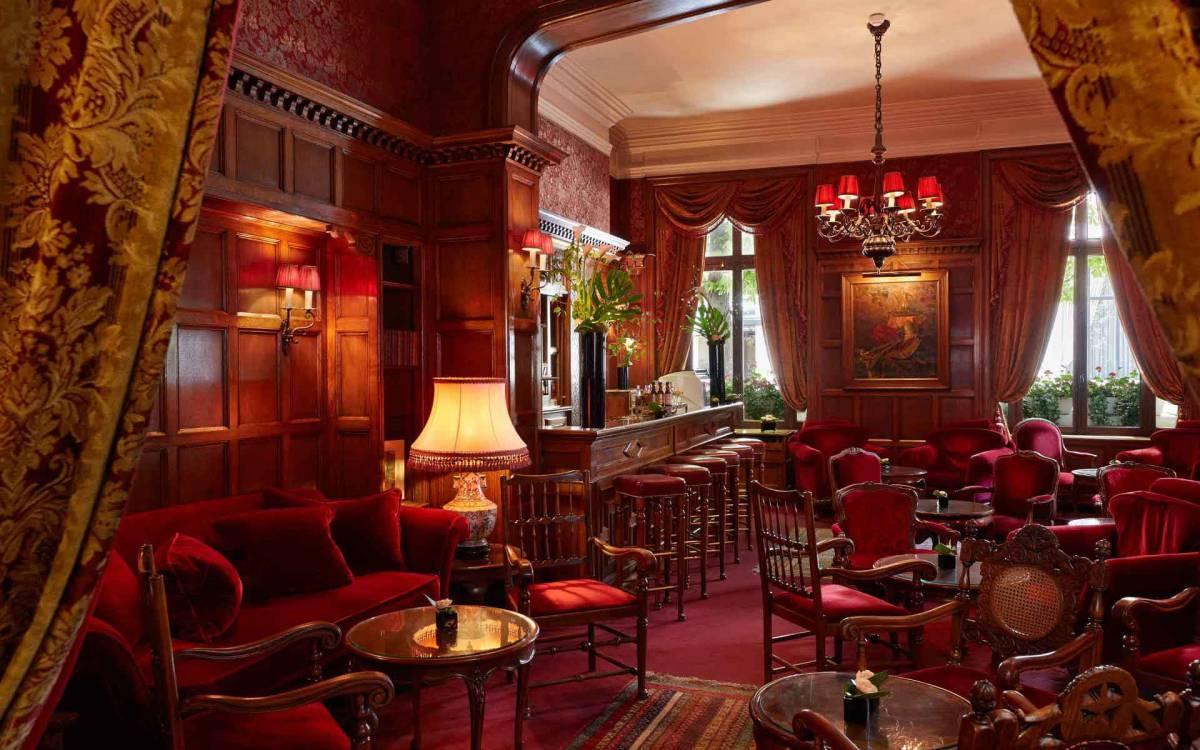 L'English Bar de l'Hôtel Raphaël © Les Hotels Baverez