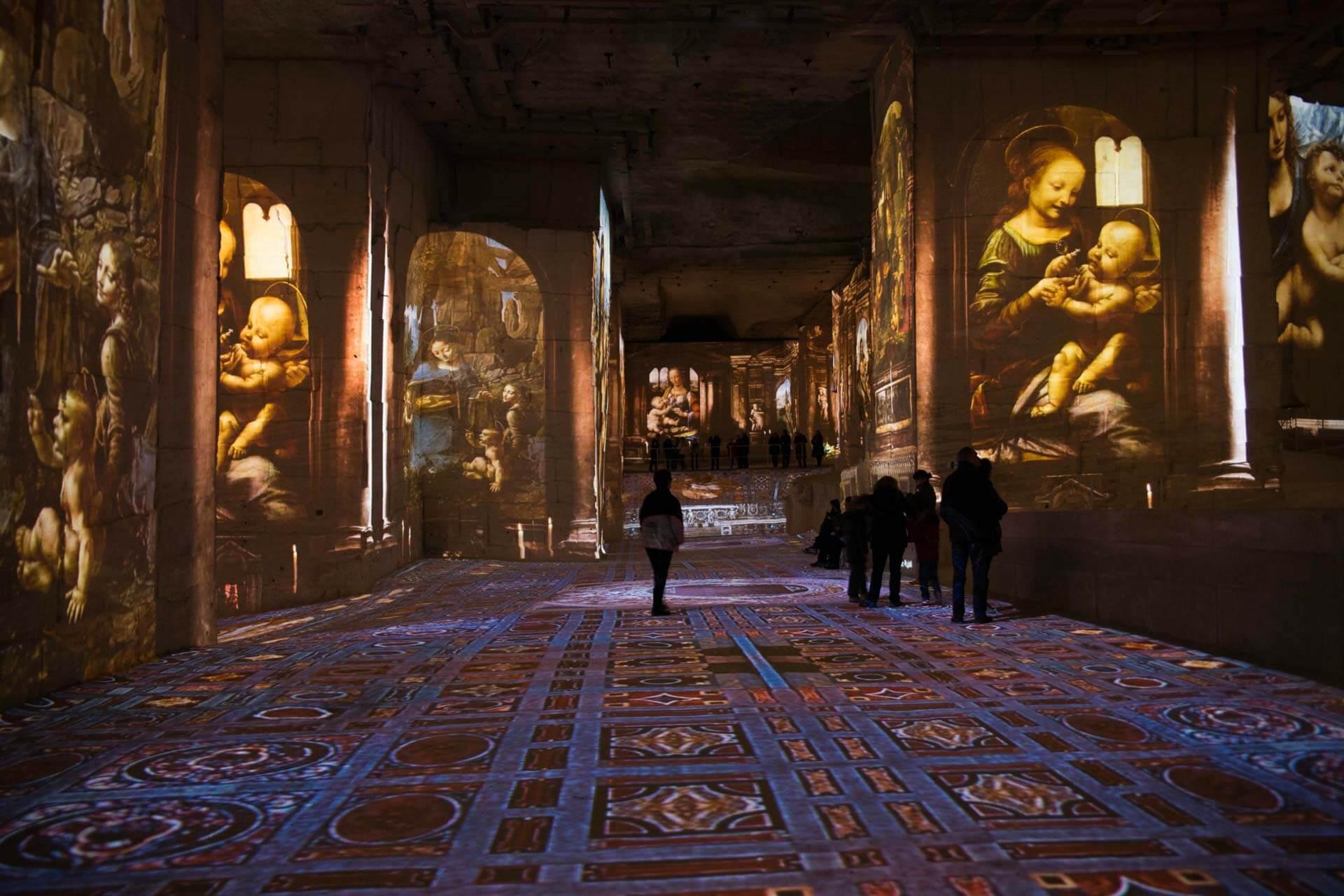 Exposition sur la Renaissance © Culturespaces - E. Venturelii