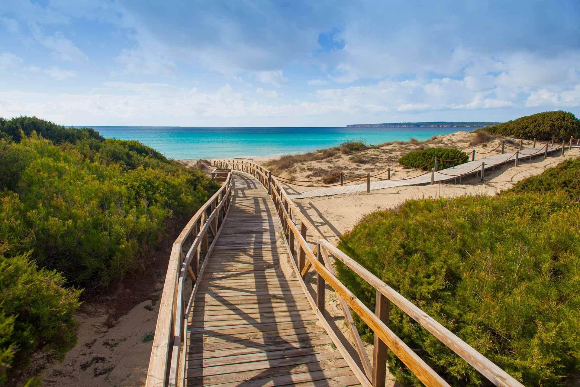 Les plages de Formentera