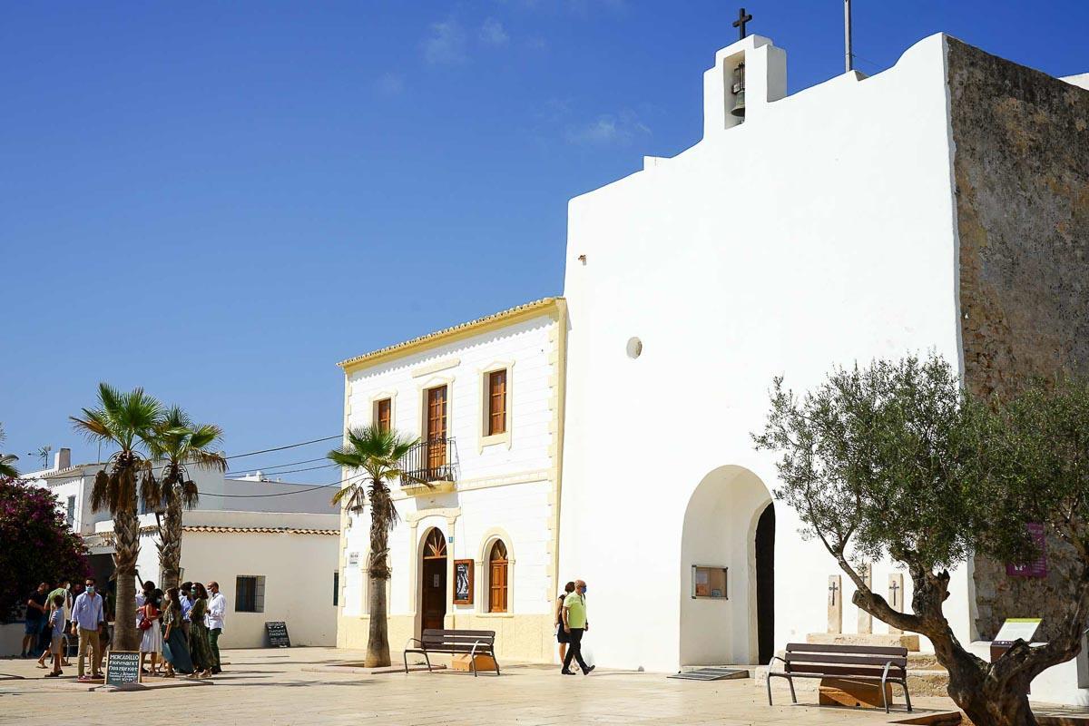 L'église de Sant Francesc Xavier, la capitale de Formentera © MB   YONDER.fr