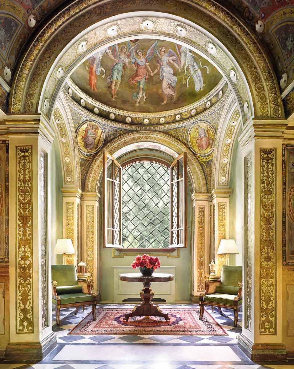 Four Seasons Hotel Firenze | Le décor fastueux se décline partout dans l'hôtel © Four Seasons Hotels & Resorts