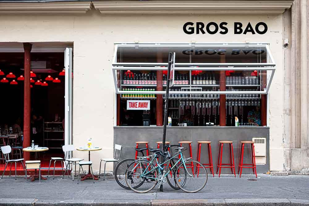 Gros Bao - Façade du restaurant © Carole Cheung