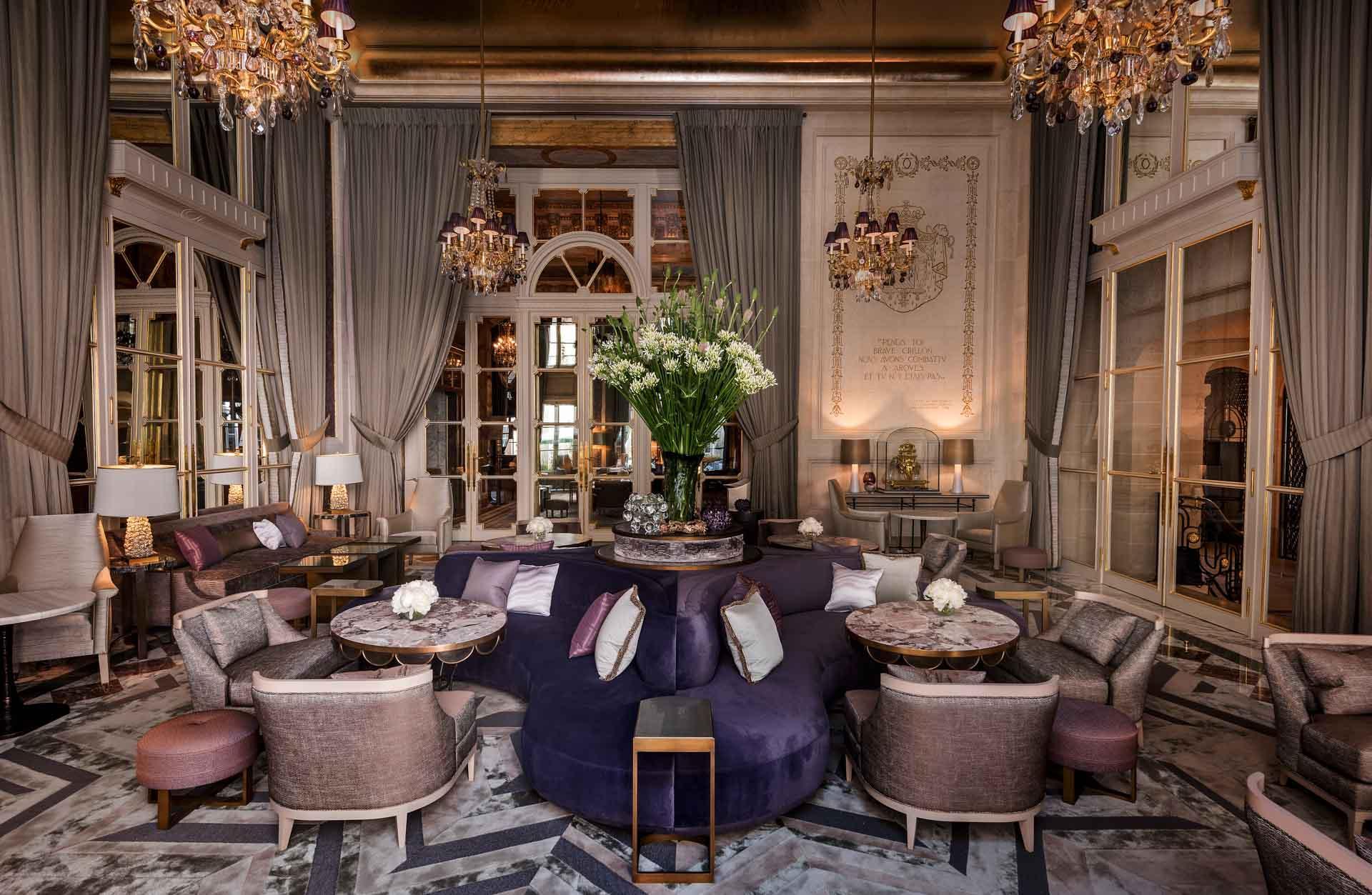 Le Jardin d'hiver à l'Hôtel de Crillon © Hôtel de Crillon, A Rosewood Hotel
