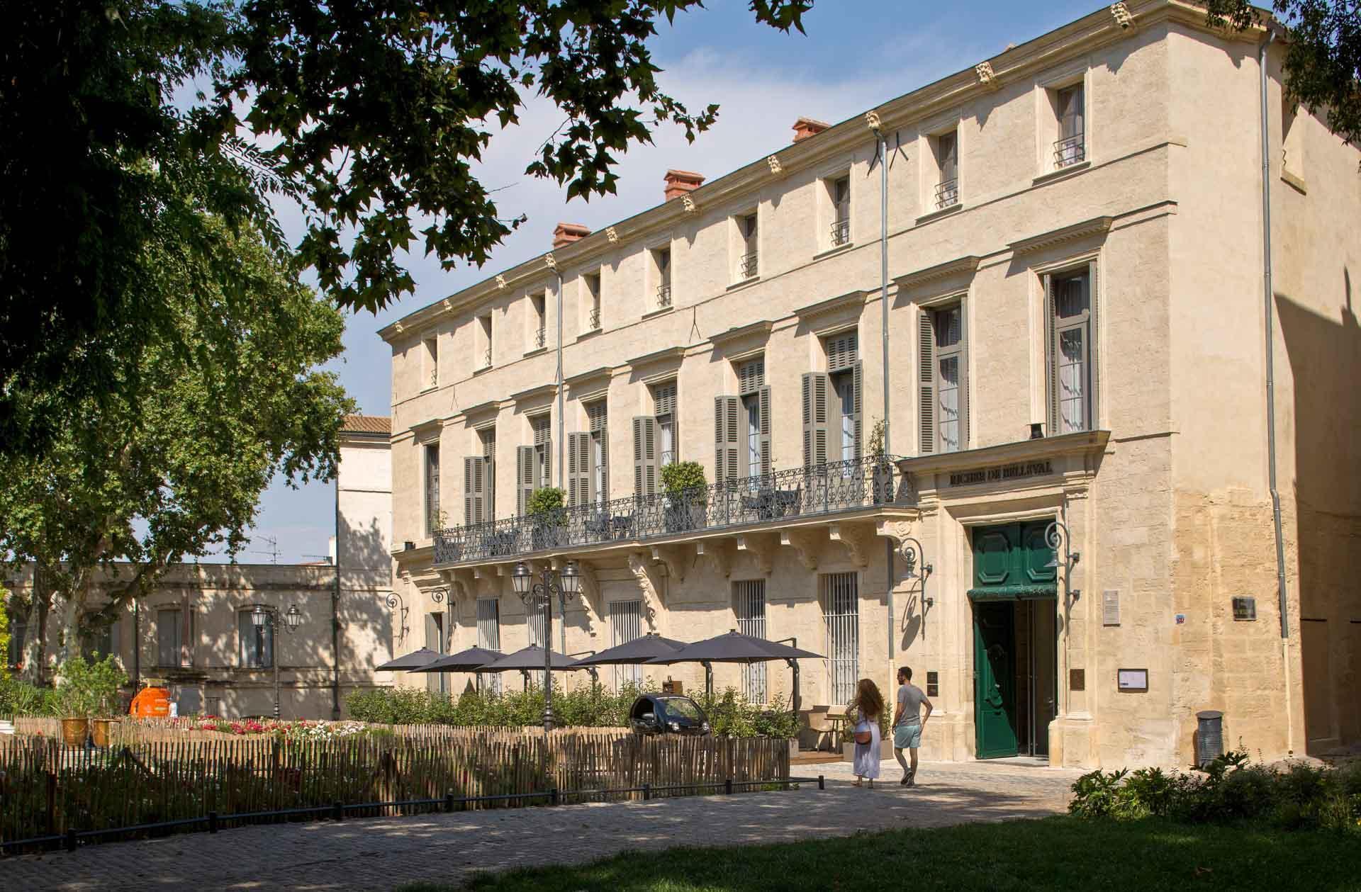 Hôtel Richer de Belleval — Place de La Canourgue © Agence Sweep Jérôme Mondière