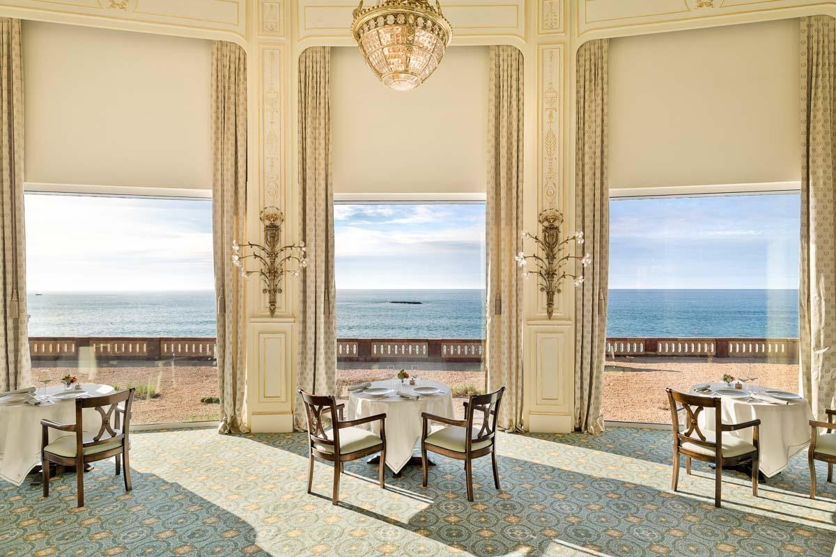 Hôtel du Palais Biarritz |Restaurant La Rotonde © Maité Photo