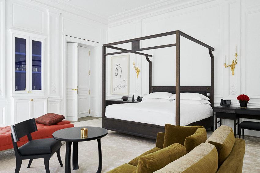 Hotel Costes Castiglione - Chambre Grand Classique Etage Noble © DR