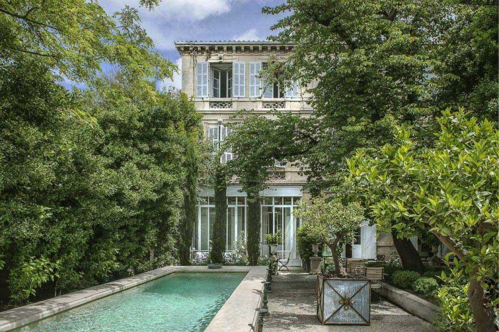 Un jardin au cœur d'Arles à l'Hôtel Particulier © DR