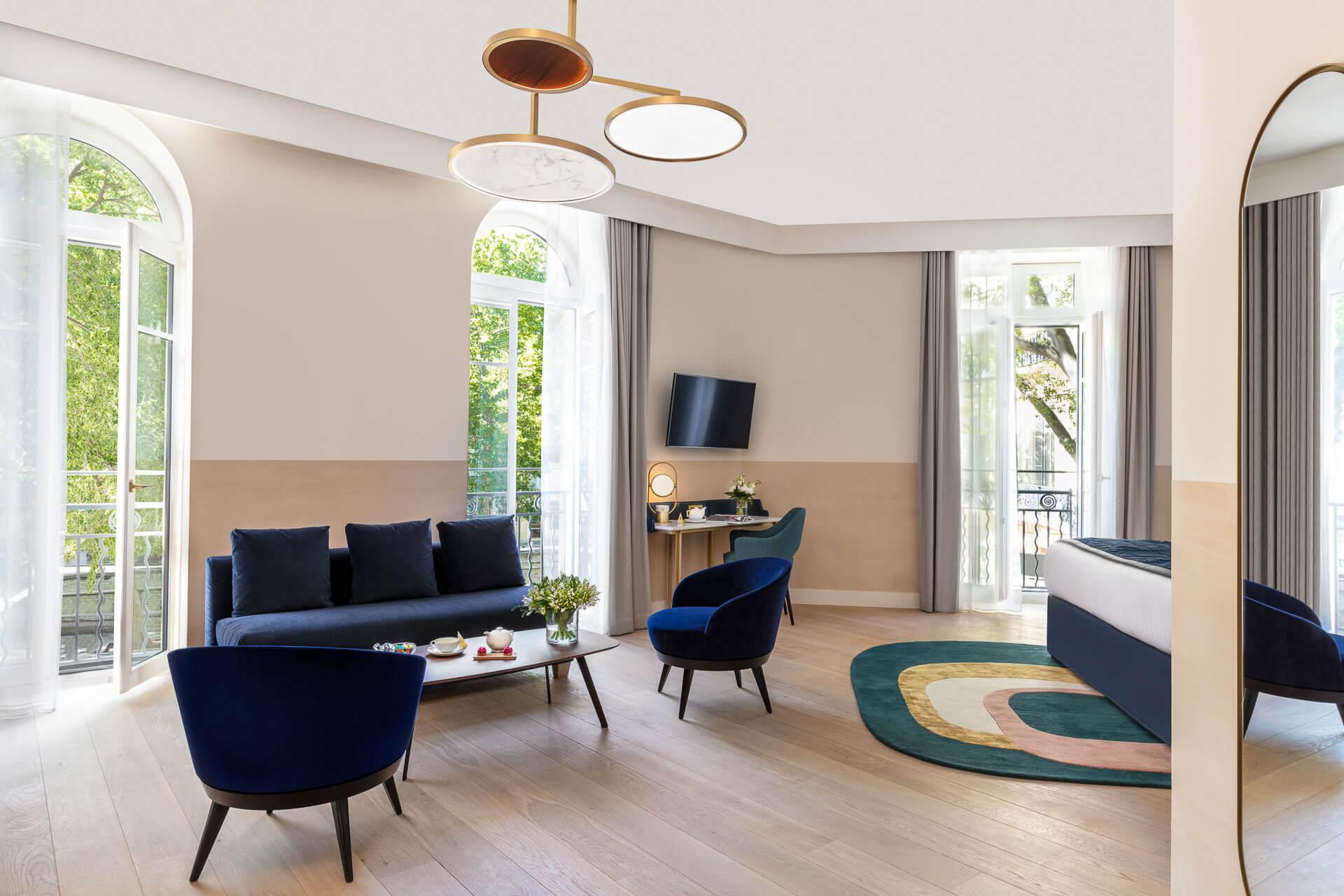 Maison Albar Hotels L'Imperator - la suite 101 © Stefan Kraus