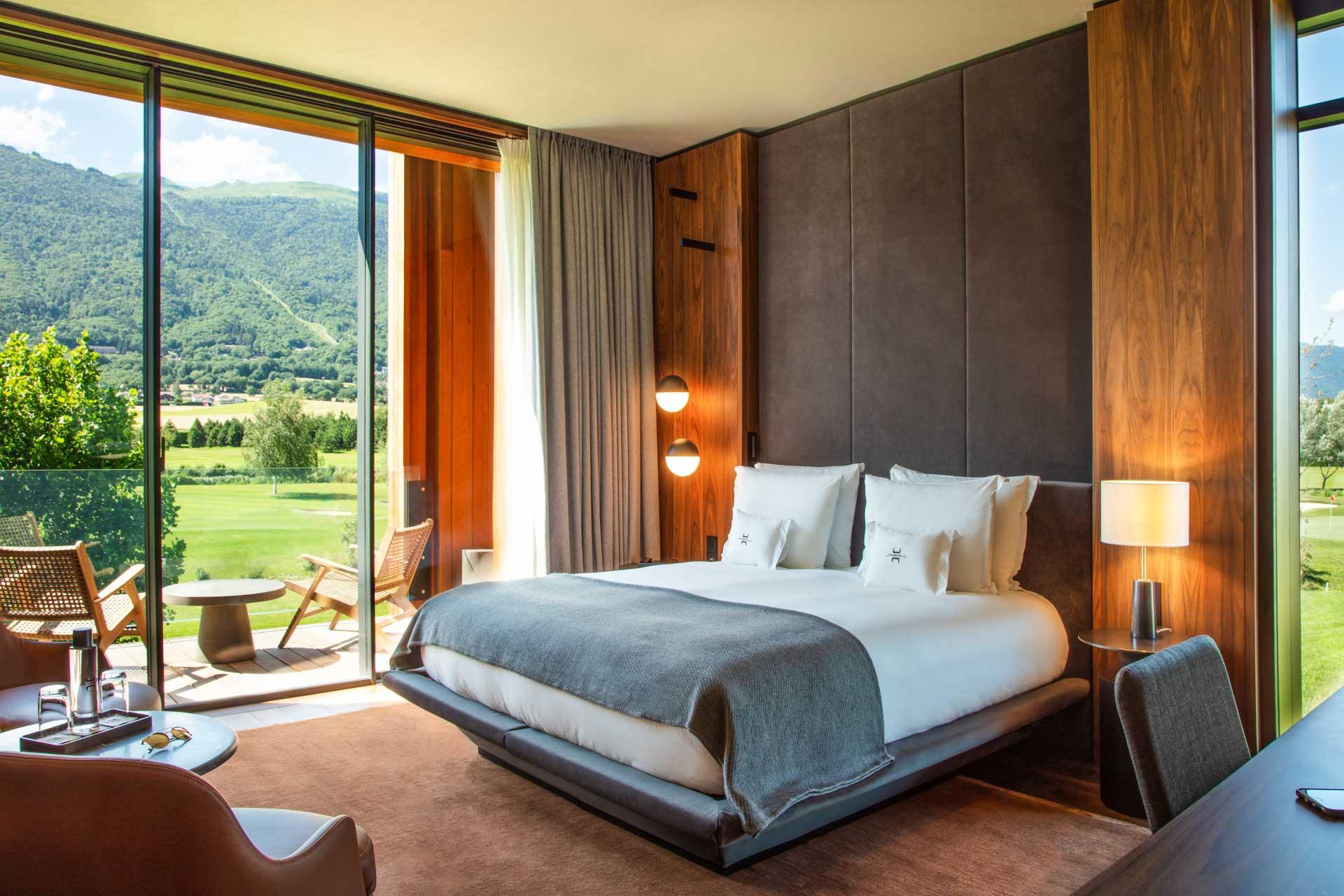 Les chambres au Jiva Hill Resort © Lenaka