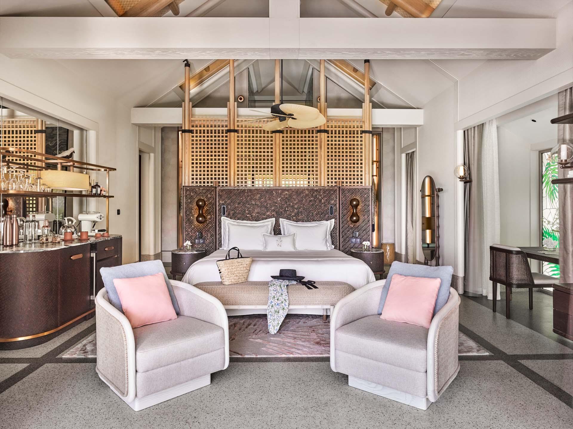 Beach Villa avec quatre chambres © Mason Rose.