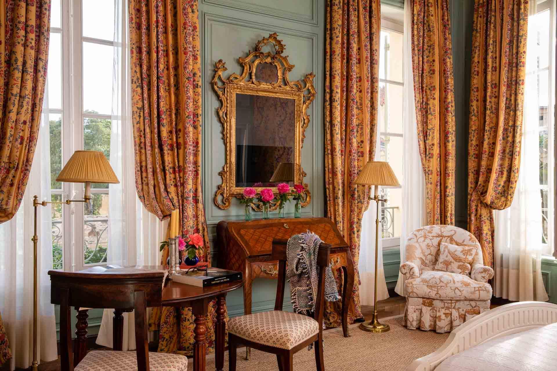 Chambre King Deluxe à La Mirande
