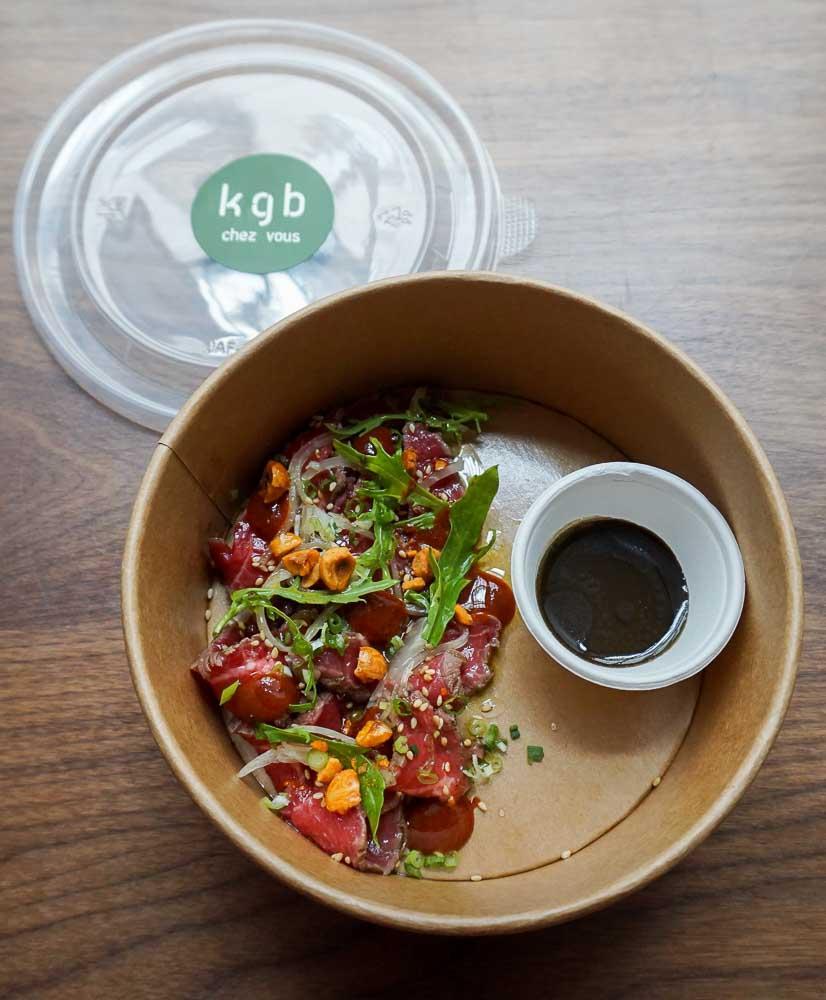 Le Tataki de bœuf de Kitchen Galerie Bis © Martin Maumet