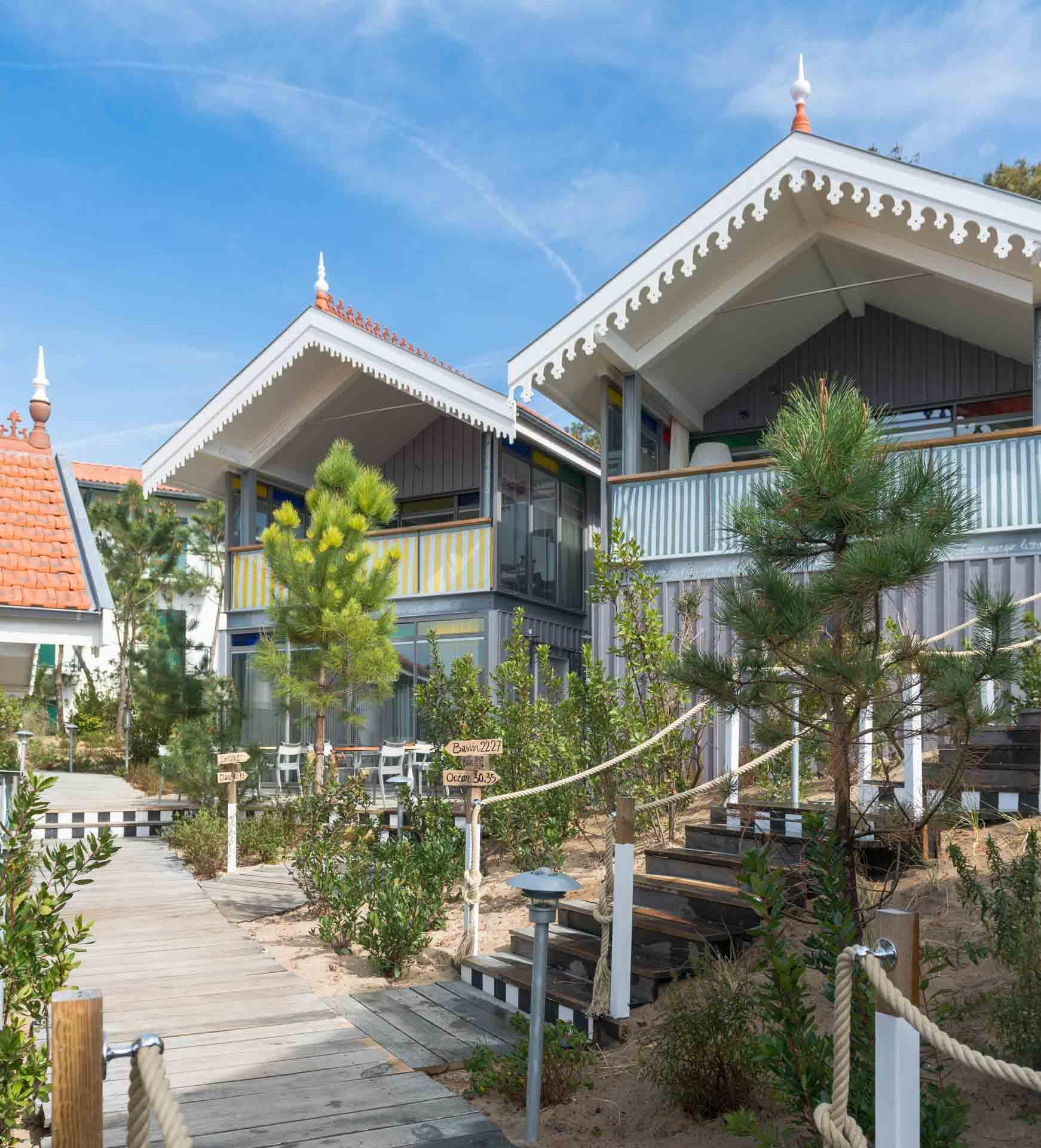 Les maisons basques de la Co(o)rniche © DR