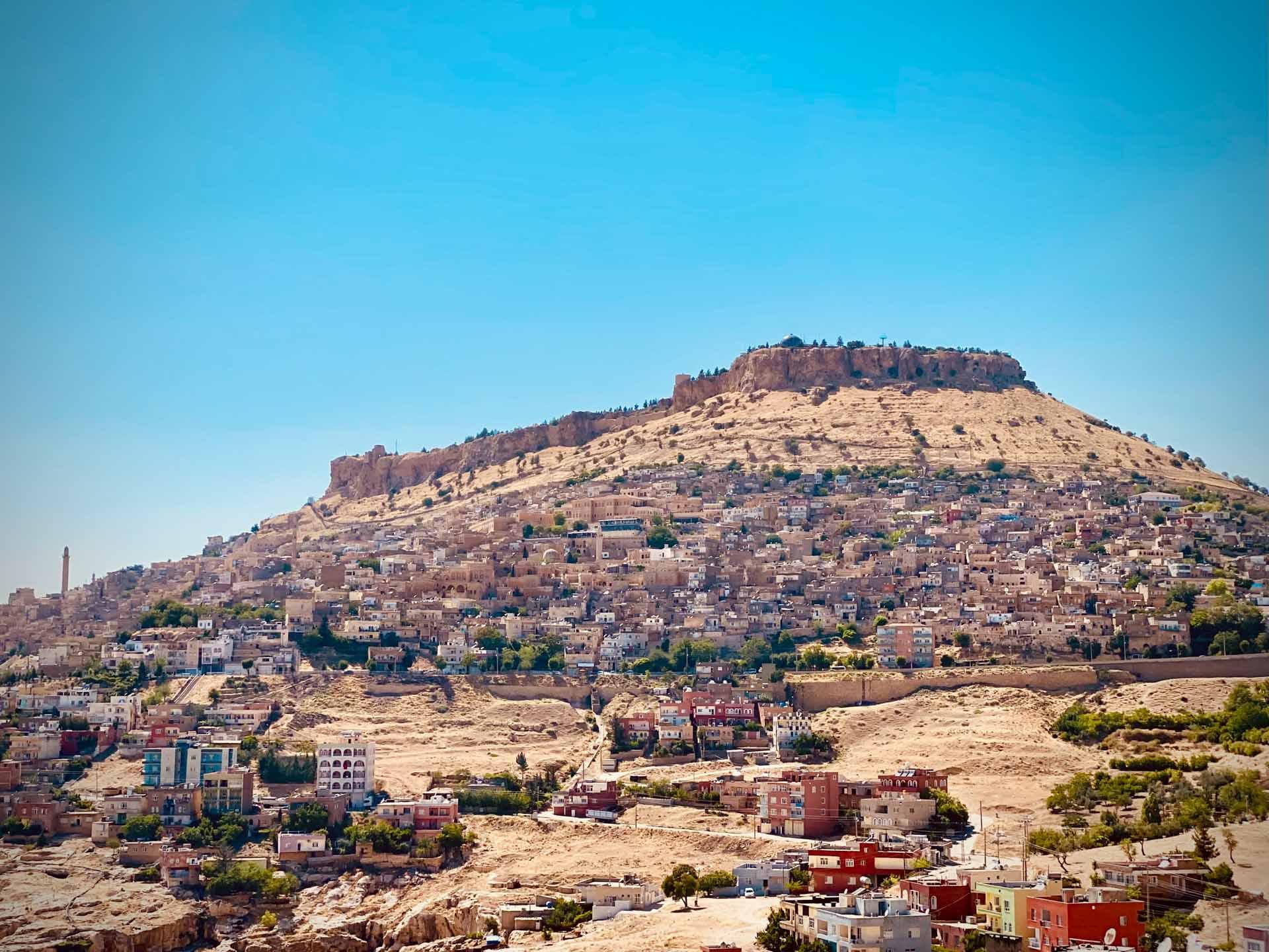 La ville de Mardin et sa citadelle © Emmanuel Laveran