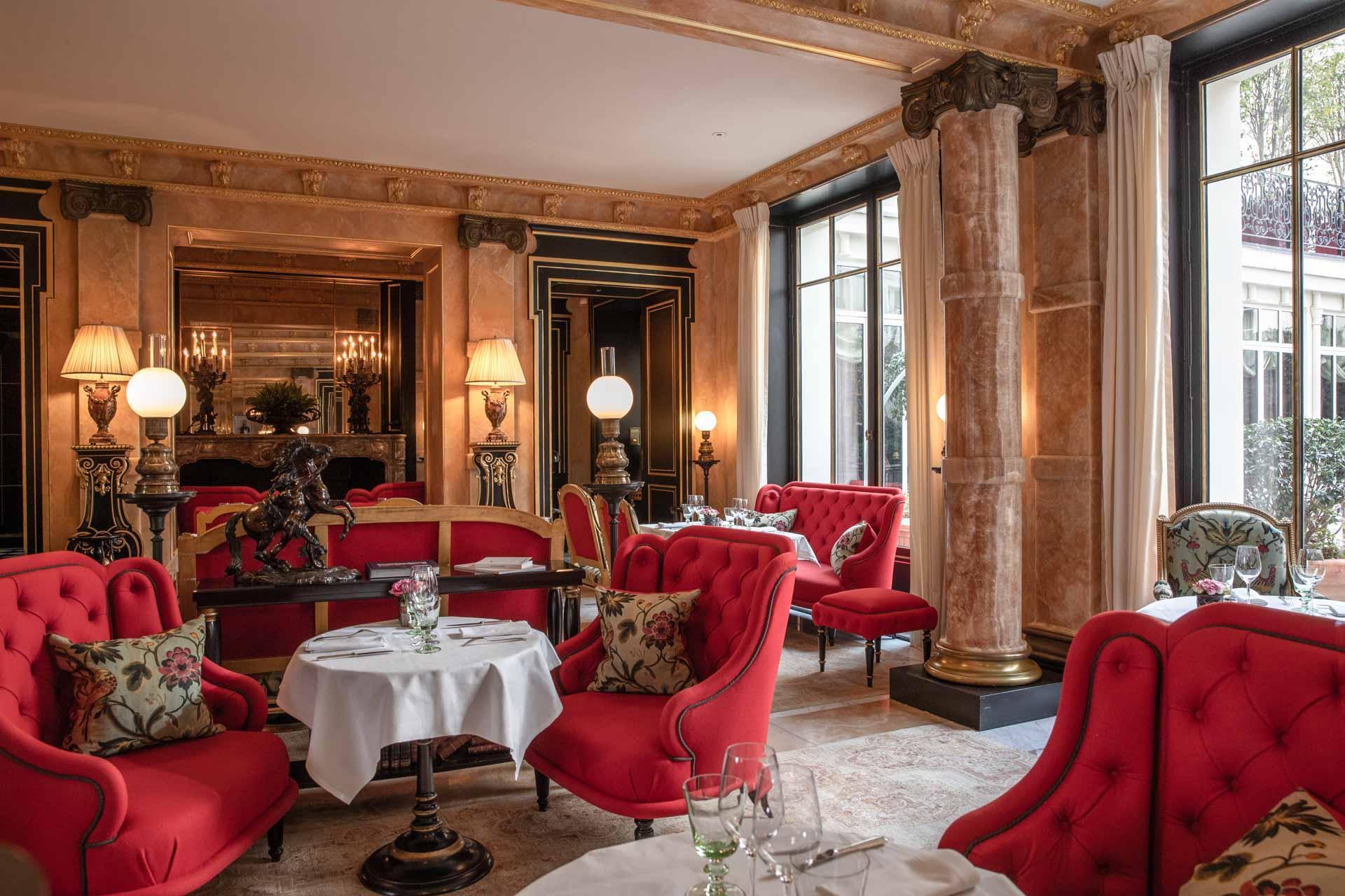 Le restaurant La Pagode à La Réserve © G. Gardette