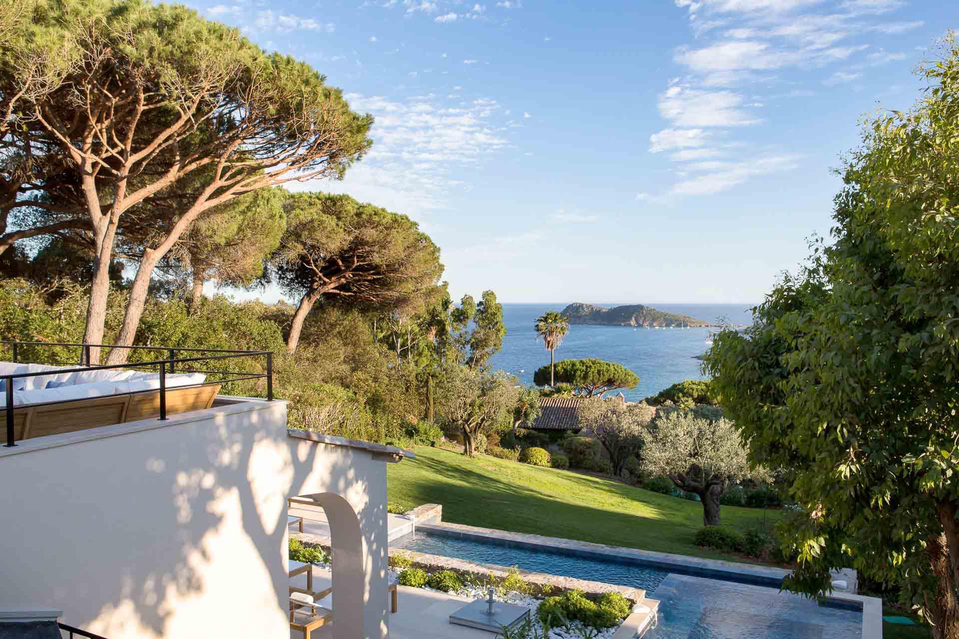 Villa avec jardin à La Réserve Ramatuelle © G. Gardette
