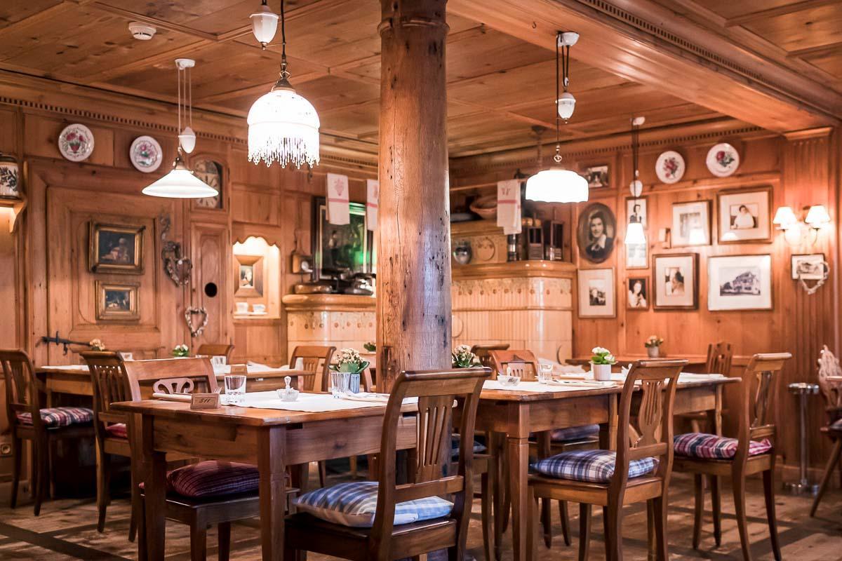Le restaurant traditionnel La Stub au Parc Hôtel Obernai © DR