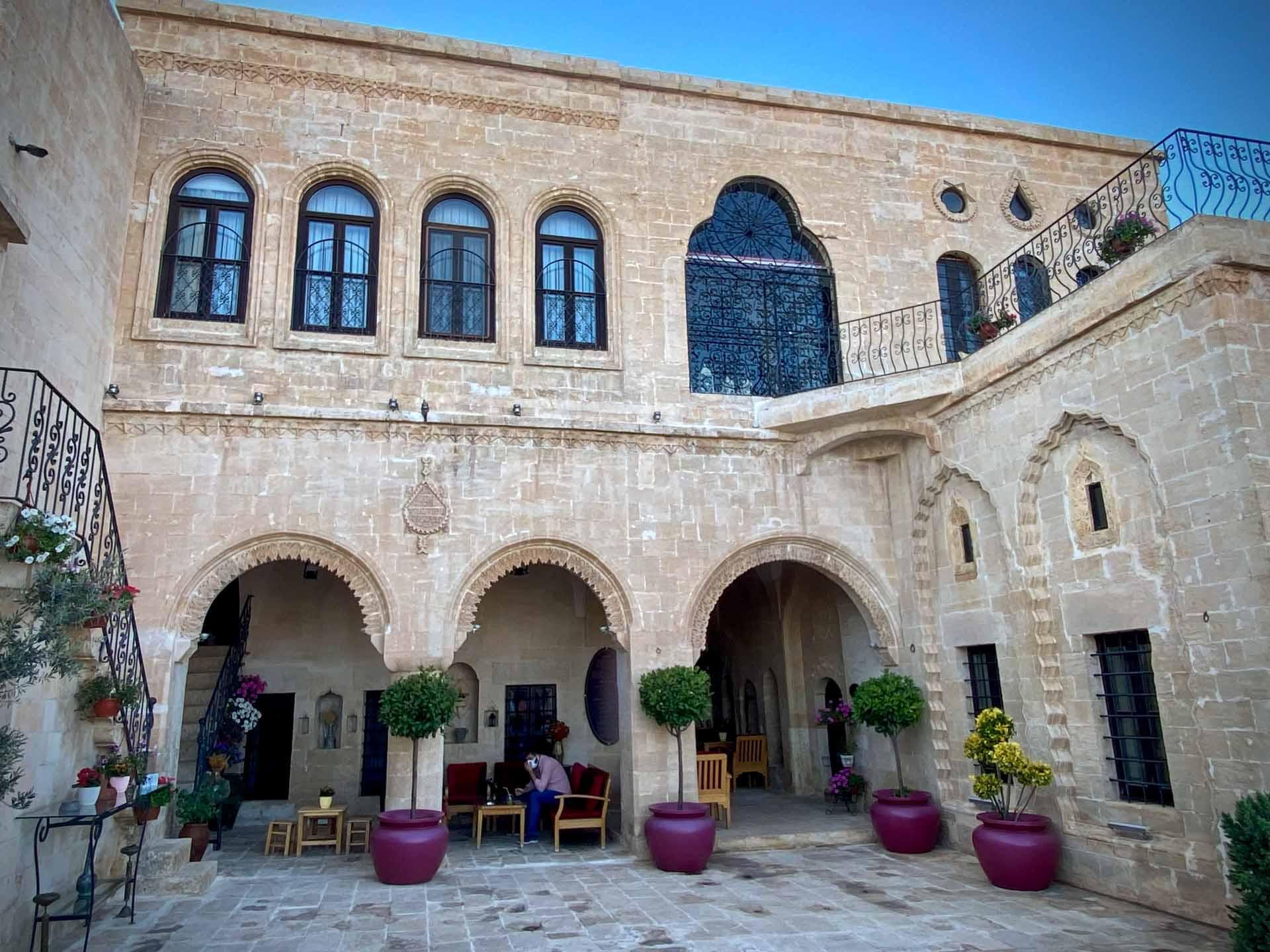 Le seculklu konagi plus beau boutique hôtel de Mardin comporte 10 chambres aménagées dans un palais antique © Emmanuel Laveran