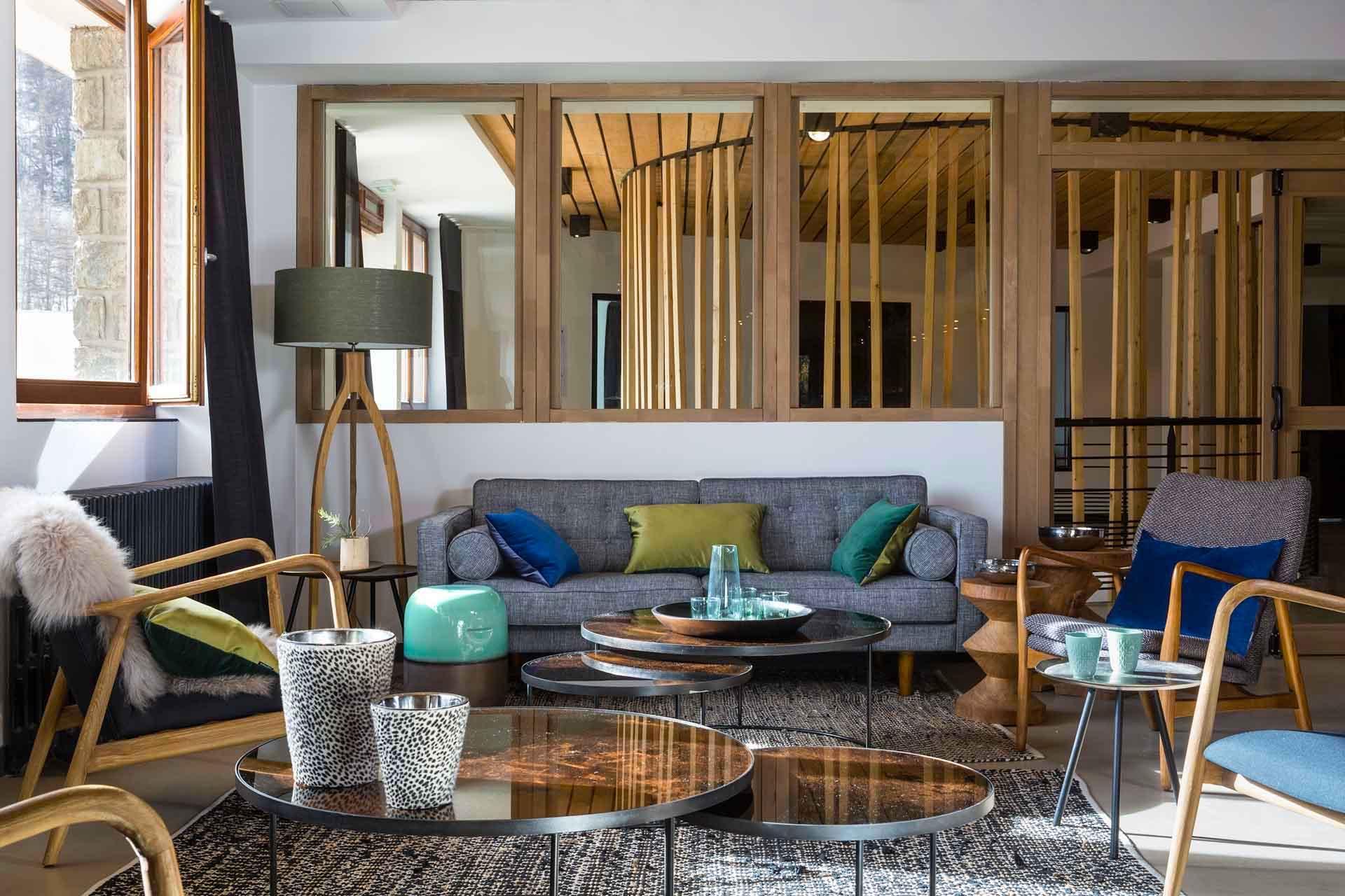 Lounge Bar du Grand Hôtel de Serre Chevalier © DR