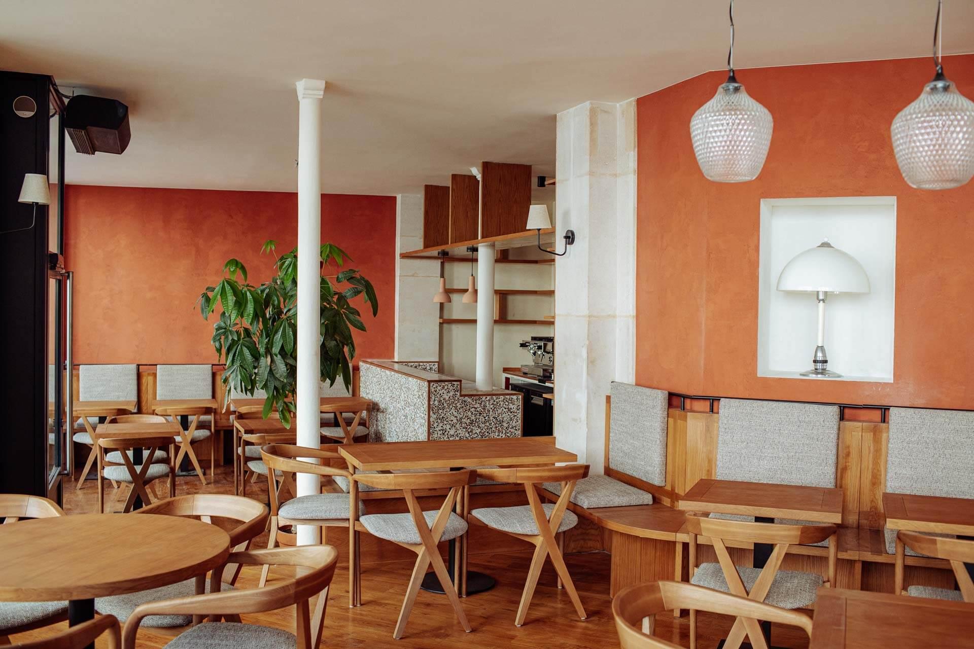 Le restaurant d'Alexandre Marchon © DR