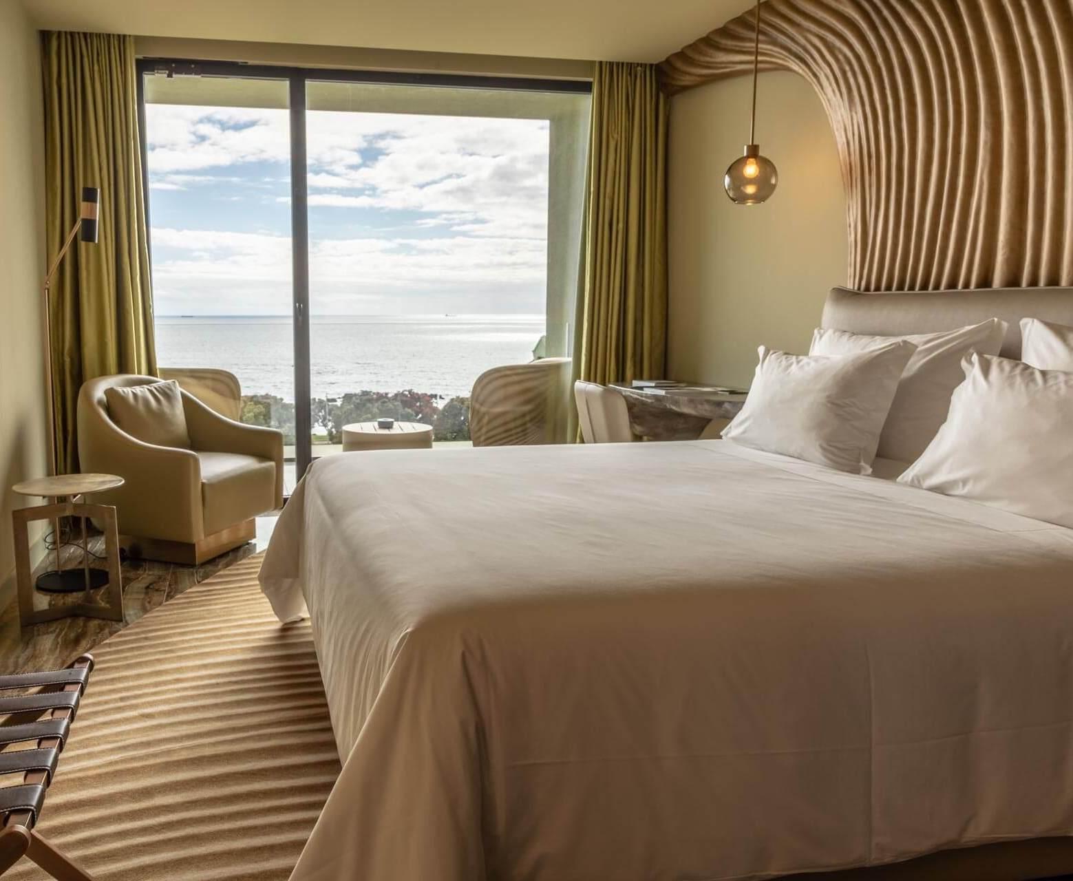 Chambre vue sur mer à la Vila Foz © Vila Foz Hotel